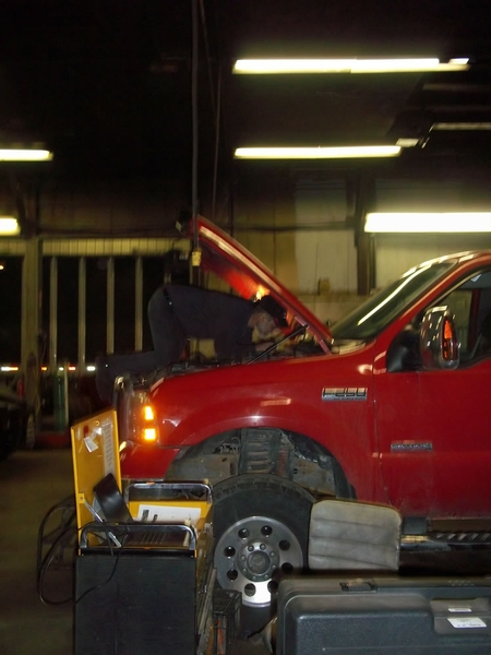Ford F250 Engine Repair